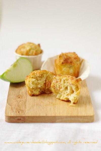 Muffin saumon pomme verte