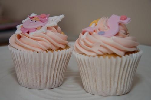 Cirencester Cupcakes - Fairy & 5th Birthday Cupcakes