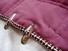 Fav. part of the quilting process: Binding