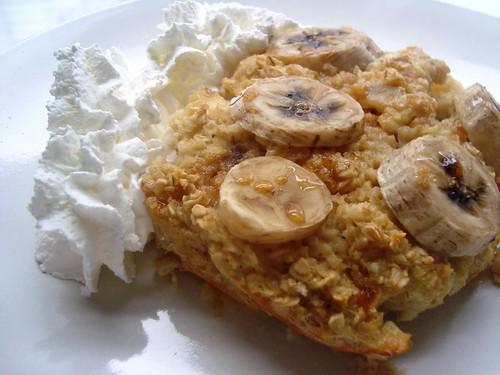 Banana Oatmeal Bake