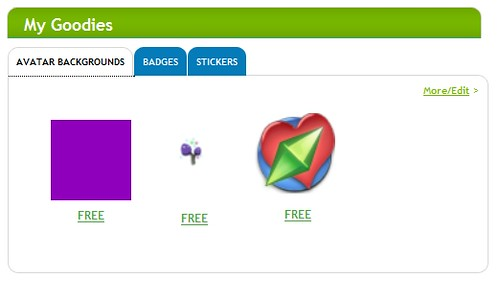 EA introduces 'My Goodies' at the Sims Store; decorate your Sims Page