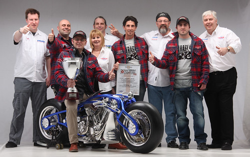 AMD team with their 2010 European Championship winners Garage 65 from Italy