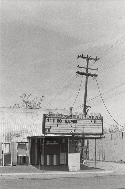 defunct movie theatre