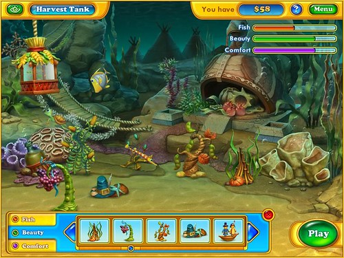 Fishdom Harvest Splash gameScreenshot