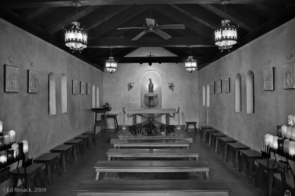 Chapel and candles