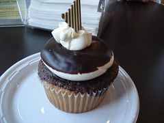 Boston Creme Pie Cupcake from Swirlz