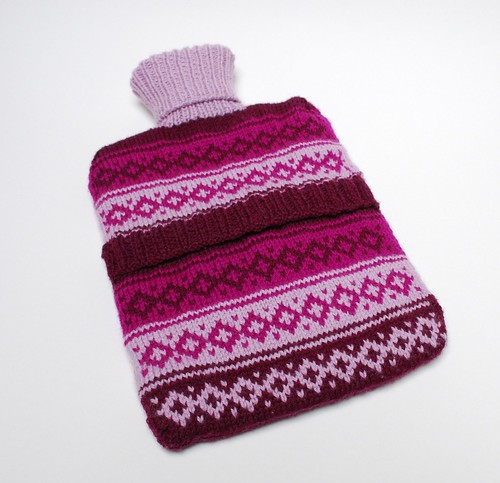 New hot water bottle cover