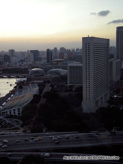 View of the Esplanade