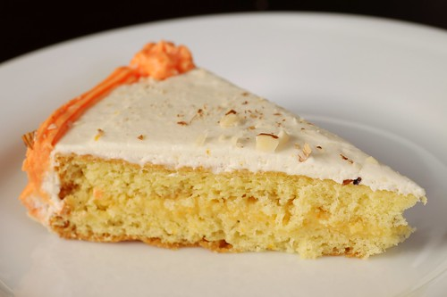 genoise with orange curd and grand marnier buttercream