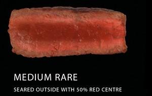 Medium rare kepsnys