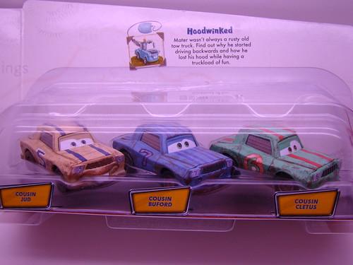 CARS storytellers cousins