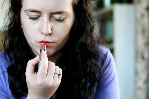 Resolution: Wear more lipstick