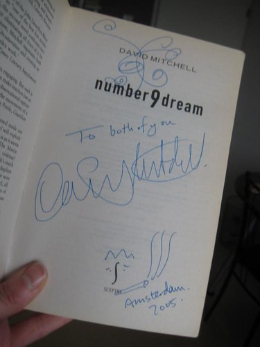 Signed copy of Number9dream