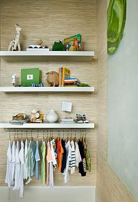 Kleinhelter condo shelves