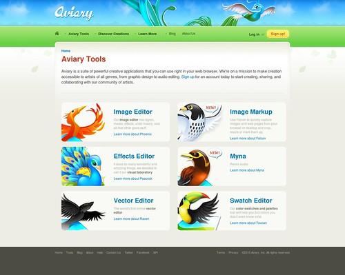 Aviary - Tools