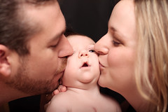 Father & Mother with Newborn