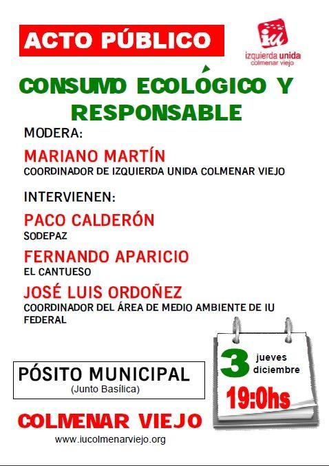 Acto Consumo Ecológico y Responsable