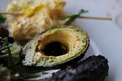 Grilled Avacado