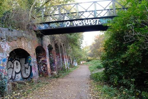 Parkland Walk graffiti