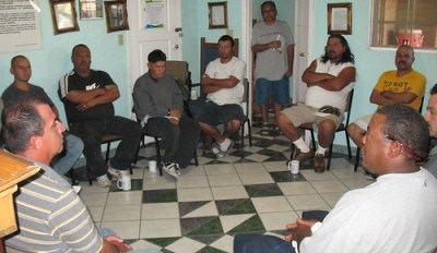 Volviendo a Vivir is a self-sustained recovery center for drug addicts that functions at its founder's home in Phoenix.