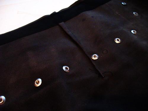 Xena skirt - darts
