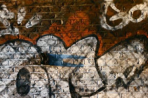 Image: graffito detail