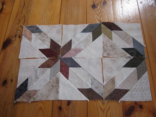 8 pointed Star Blocks