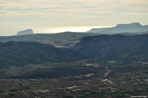 Montgó, vistas al sur