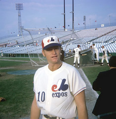 Rusty Staub le grand orange mai1969 stade Jarry