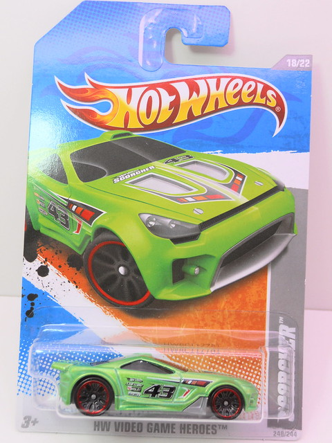 hot wheels scorcher green (1)