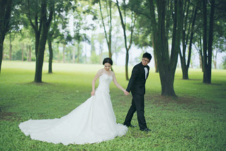 Pre-Wedding [ 中部婚紗 – 森林草原系列海邊 ] 婚紗影像 20160811 - 12