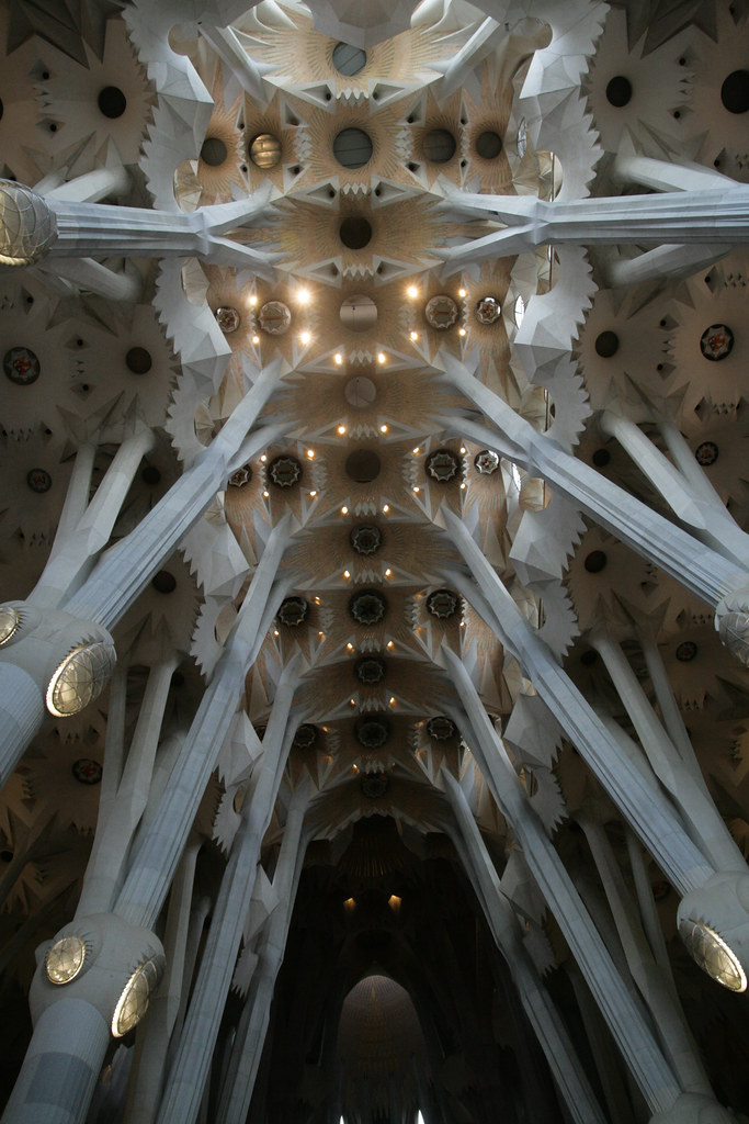 Piliers de la Sagrada Familia