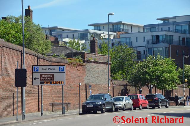 Portsmouth Historic Dockyard Car Park