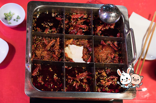 九宫格 Nine boxes spicy pot