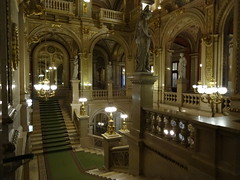 Vienna Opera House main entrance stairway