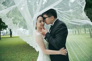 Pre-Wedding [ 中部婚紗 – 森林草原系列海邊 ] 婚紗影像 20160811 - 16