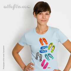 Slippers t-shirt