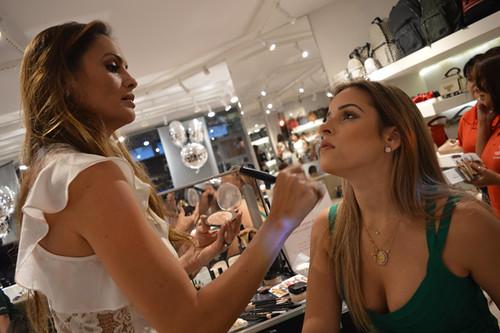 A top maquiadora Lu Nardy