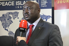 Amb. Mamadou Tangara - Ebru TV Interview - Africa Panel 1