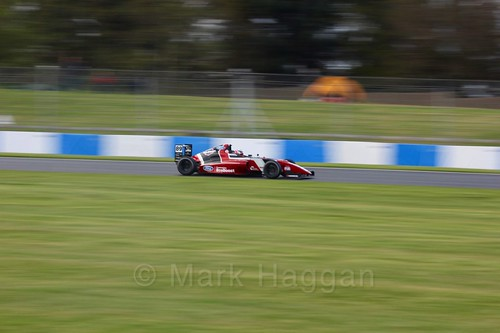 Jamie Sharp in British F4 Race Two during the BTCC Weekend at Donington Park 2017: Saturday, 15th April