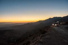 Sunset at Tizi n'Test