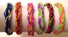 Rainbow Loom Bracelets for Sale