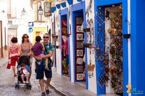 Ruas paralelas à Mesquita de Córdoba