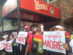 #Fightfor15 @wendys @fightfor15 #strikefor15 #...