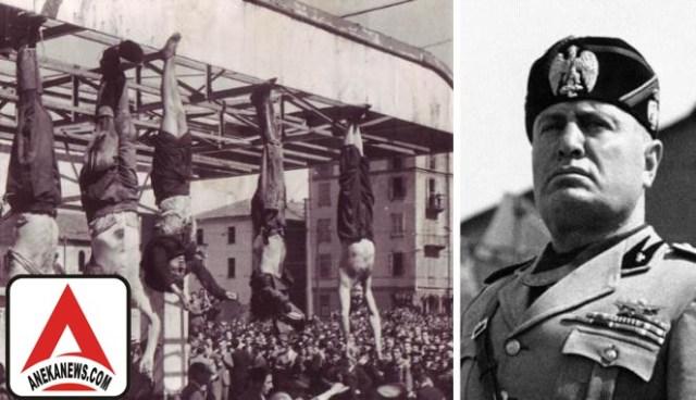 #News: 28-04-1945: Jenazah Diktator Italia Dipamerkan ke Publik