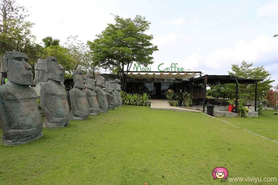 [泰國.景點]拉差汶里府(Ratchaburi)~Moai Coffee摩艾咖啡.復活島巨石陣再現 @VIVIYU小世界
