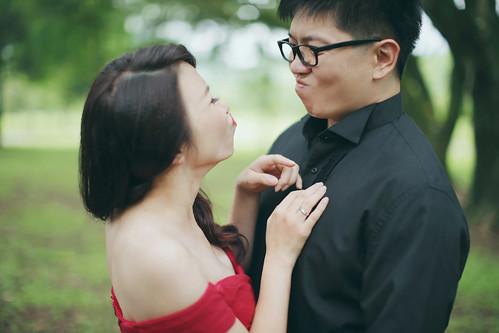 Pre-Wedding [ 中部婚紗 – 森林草原系列海邊 ] 婚紗影像 20160811 - 5