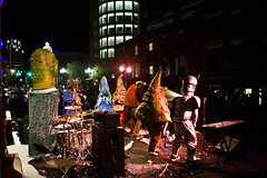The Big Nazo Creature Band on the Steeple Street Stage