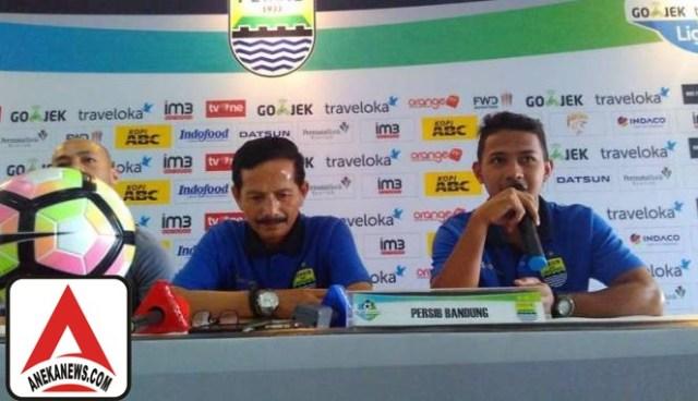 #Bola: Djanur Pastikan Persib Siap Tempur Kontra Sriwijaya FC