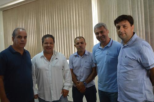 Rogério, Amarildo Assis, Roberto Xavier, José Carlos Alvarenga e Fabrício Pereira